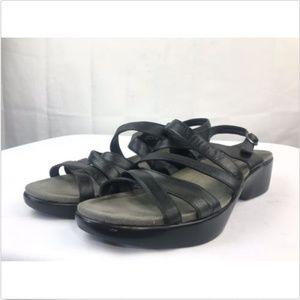Dansko Dani Black Women's Sandals